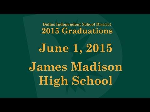 Dallas ISD - James Madison High School - Graduation 2015