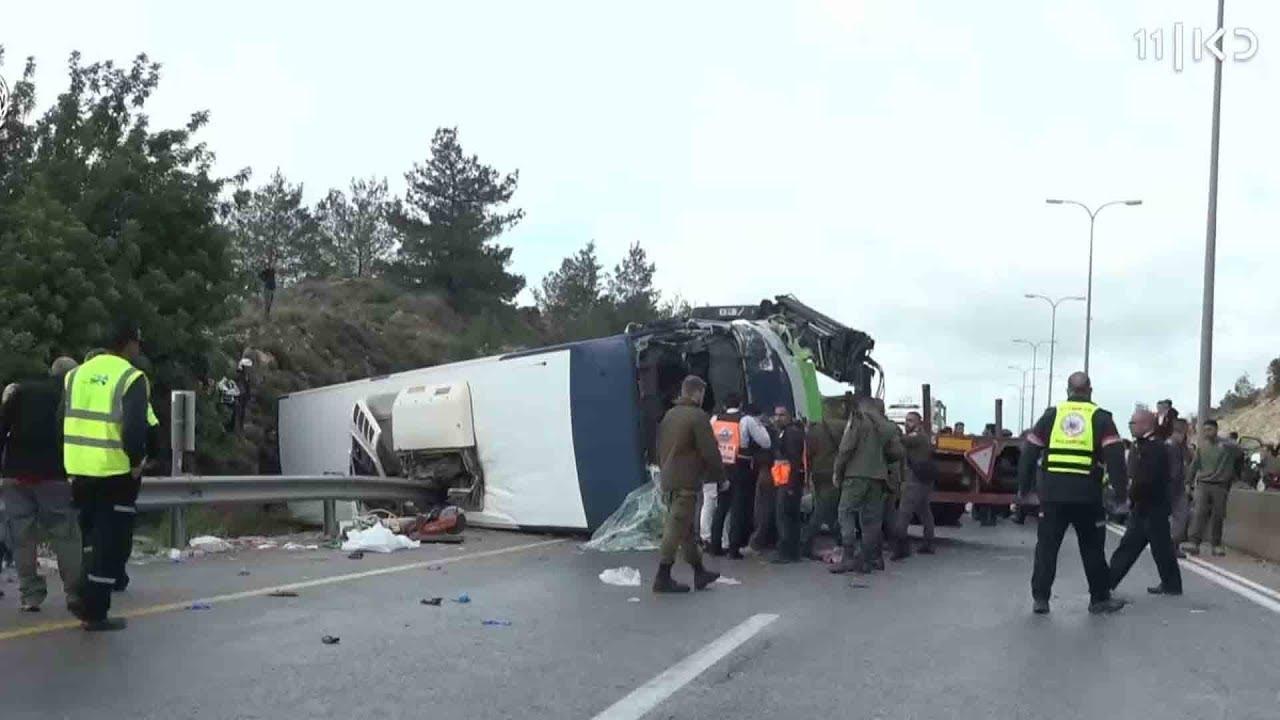 """""""זה כמו פיגוע"""": המעורבות המסוכנת של אוטובוסים בתאונות דרכים"""