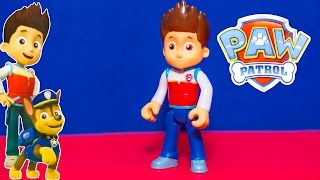 PAW PATROL Nickelodeon Paw Patrol Ryder Pup Pack a Paw Patrol Video Toy Review
