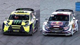 Valentino Rossi Vs. Teemu Suninen - 2018 Monza Rally Show - Ford Fiesta WRC Plus