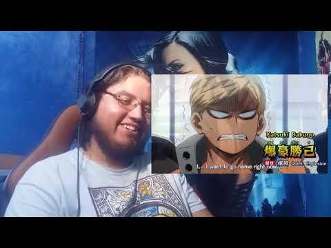 """Boku no Hero Academia reaction Season 2 ep 18 """"So much information!"""""""