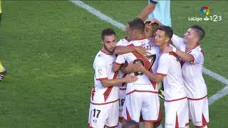 Resumen de Rayo Vallecano vs CD Numancia (2-2)
