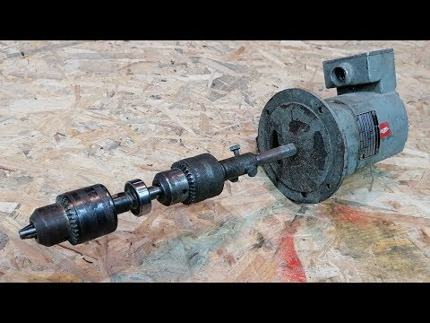 How to Make a Wood Lathe Using a Water Pump Motor
