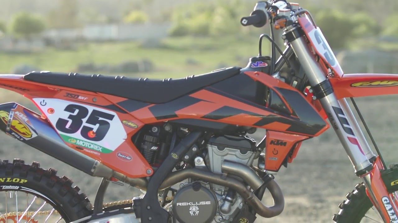 tested: 2016 ktm powerparts 350 sx-f - youtube
