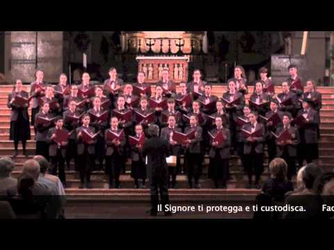 A Gaelic Blessing - The Lord bless you and keep you (J. Rutter) - Coro I Piccoli Musici