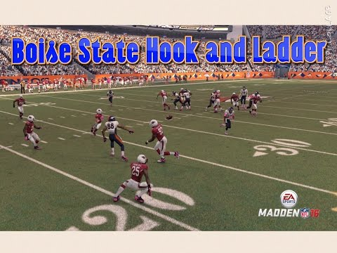 Madden 16 Challenge - Can I Recreate the BOISE STATE MIRACLE HOOK AND LADDER PLAY?
