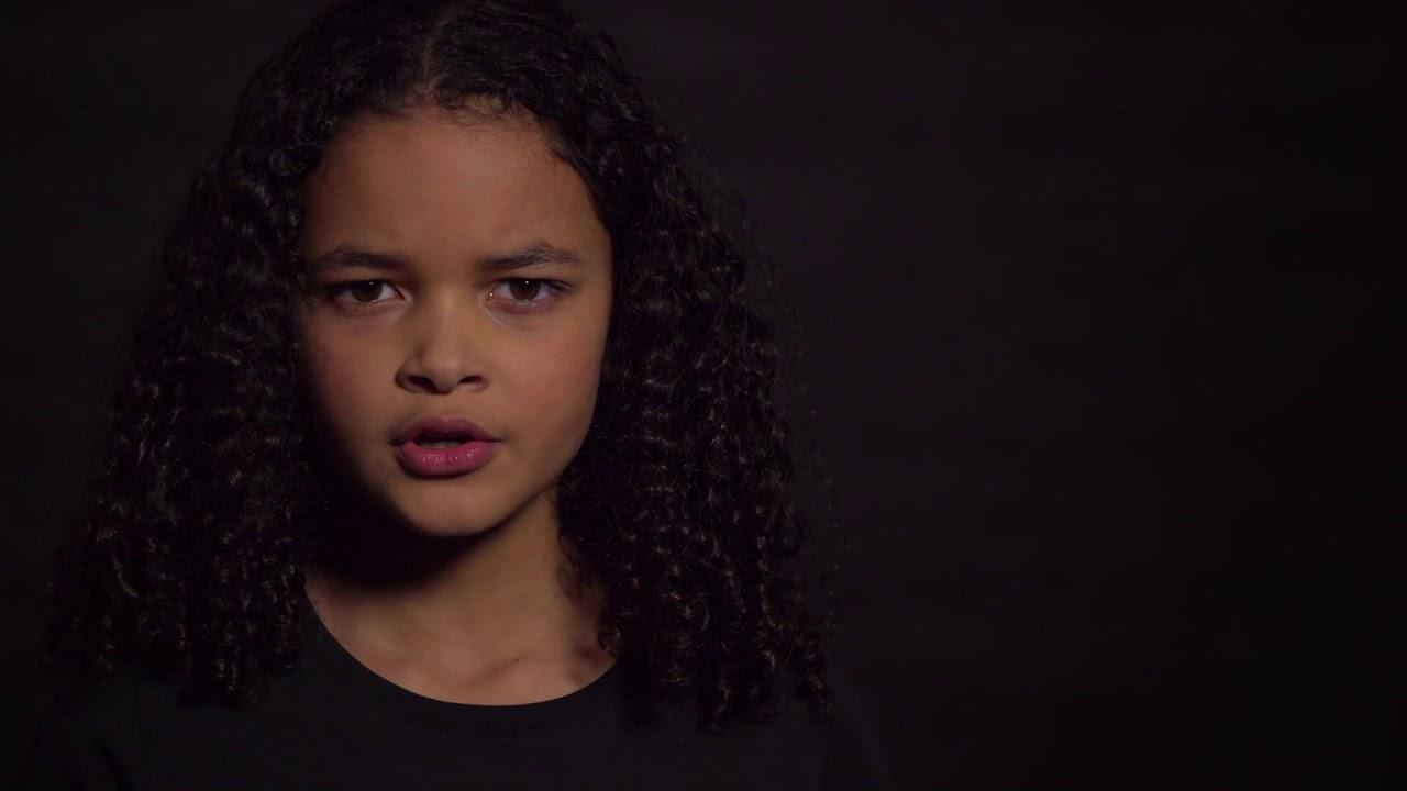 jonge Ebony zwarte tieners