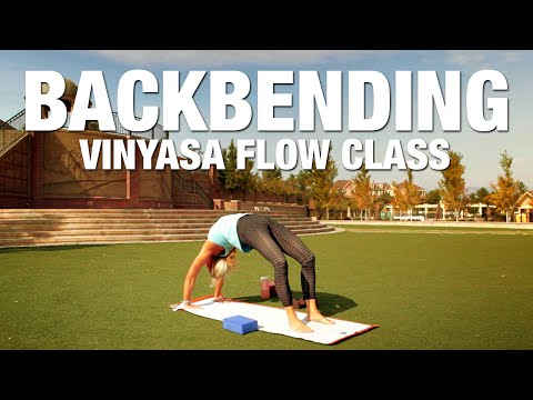 Backbending Yoga Postures Class - Five Parks Yoga - YouTube