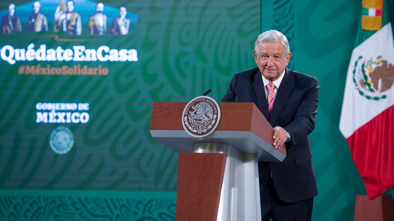 Propuesta de regreso a clases presenciales en Campeche. Conferencia  presidente AMLO