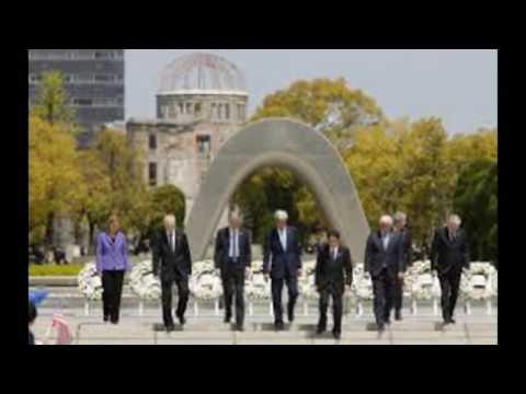 G7 Japan: World leaders visit Shinto religion's holiest shrine