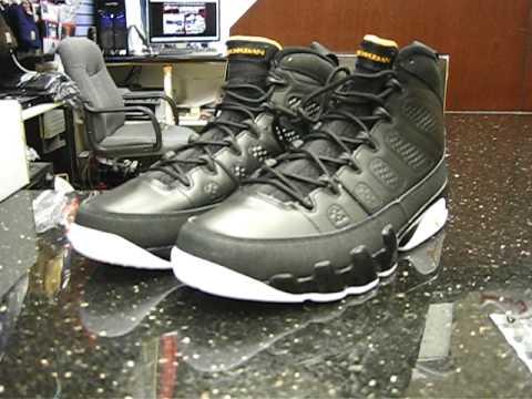0fd2bd8d4a8946 Air Jordan 9 IX Retro Black Citrus White at Street Gear