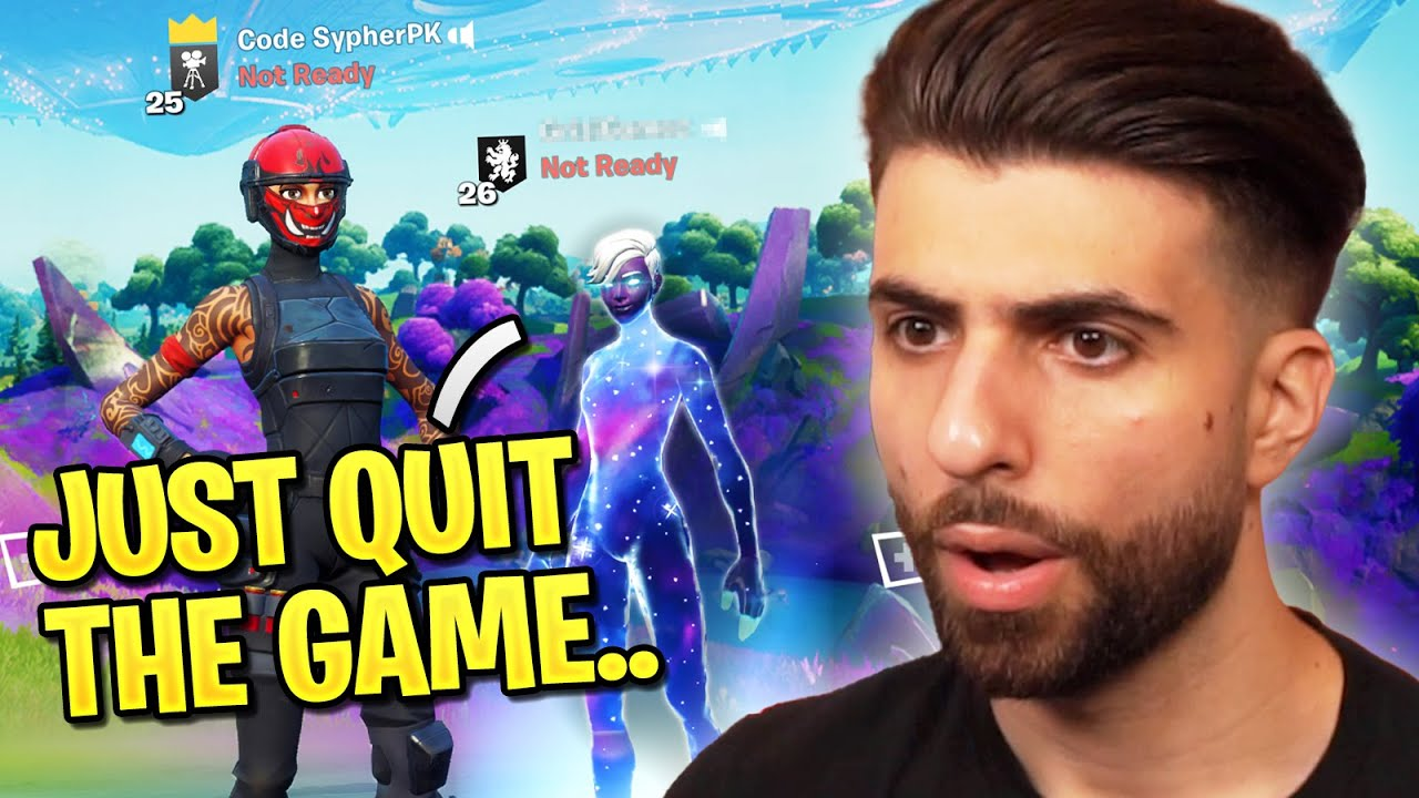 I confronted a TOXIC Fortnite Pro...