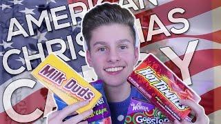 british boy tries american christmas candy