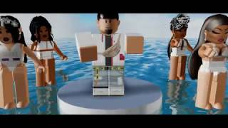 Chris Brown, Usher, Rick Ross - New Flame| ROBLOX Music Video