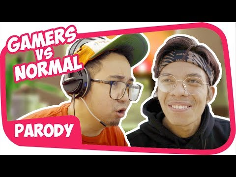 GAMER Vs NORMAL collab with ATTA HALILINTAR Wkwkwkwk
