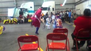 DANZA DE PLUMA DE LA SANTA CRUZ. CONGREGACION HIDALGO