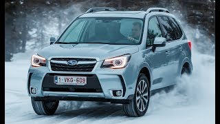 Subaru Forester – Test Drive on Snow