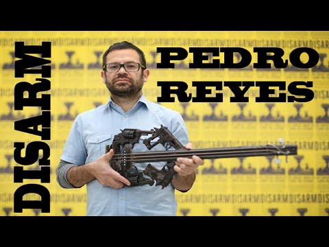 Turning Guns into Music  - The Thing About...Pedro Reyes