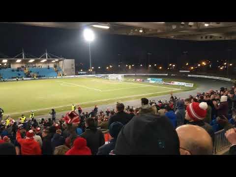 Ballymena 1-2 Larne 2018 Irish Cup QF after match