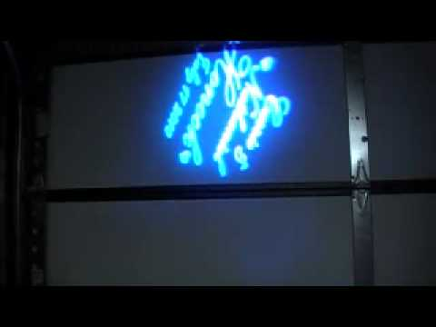Stage Ape Gobo Projector - YouTube