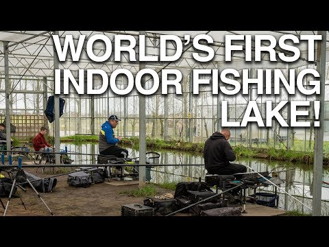 World's First Indoor Fishing Lake! Cast North West