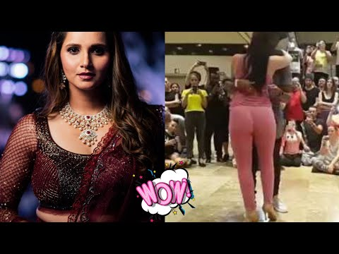 Raske Qamar Sania Mirza at Dance Verson