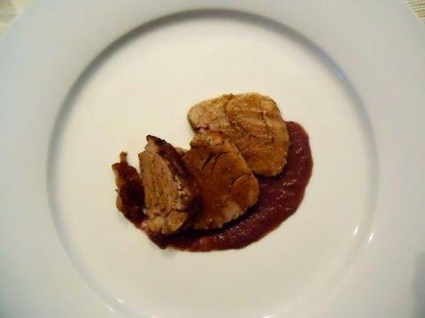Filetto di maiale al forno ricetta perfetta youtube - Filetto di maiale al porto ...