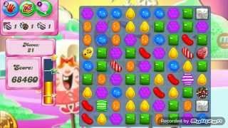 Candy Crush Level 257 3 Stars