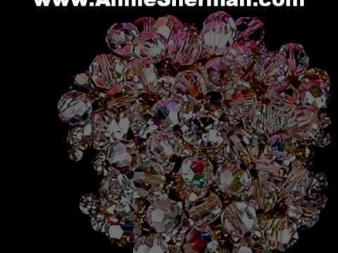 Vintage Costume Jewelry - Vintage Crystal Rhinestone Brooches And Pins