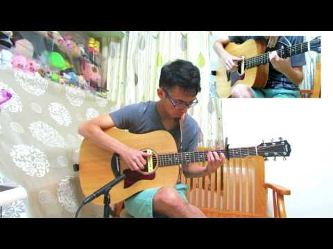 One in a Million (TWICE) - fingerstyle guitar cover (with tab)