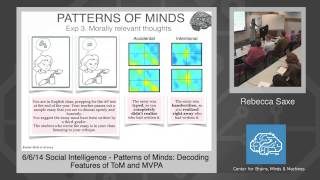 6/6/14 Social Intelligence - Rebecca Saxe: Patterns of Minds: Decoding Features of ToM and MVPA