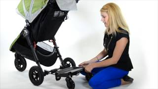 How to attach a Baby Jogger glider board to a stroller