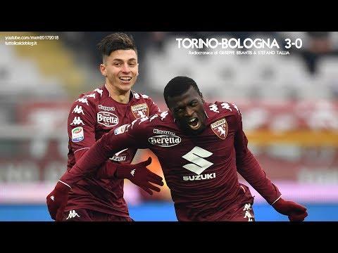 TORINO-BOLOGNA 3-0 - Radiocronaca di Giuseppe Bisantis & Stefano Tallia (6/1/2018) da Rai Radio 1