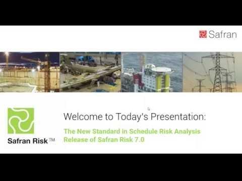 New Standard in Schedule Risk Analysis   Featuring Safran Risk 7.0