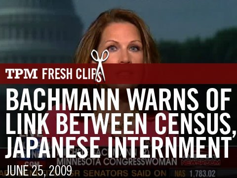Bachmann Warns Of Link Between Census, Japanese Internment