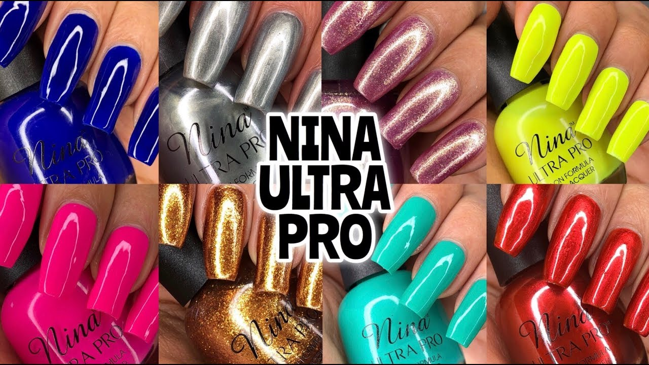 Nina Ultra Pro Nail Polish Review + Swatches PLUS GIVEAWAY - YouTube