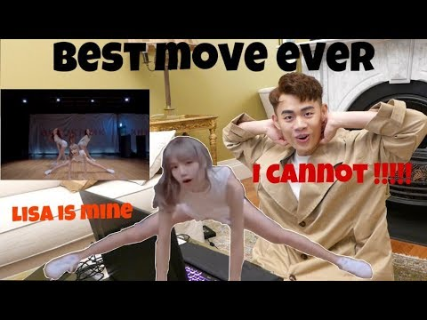 """BLACKPINK - """"Don't Know What To Do"""" DANCE PRACTICE VIDEO REACTION [LISA WIN MY HEART AGAIN]"""