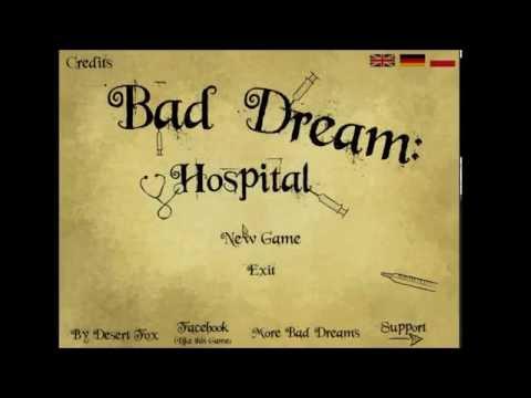 Bad Dream: Hospital   Get Your Cold Liouids!