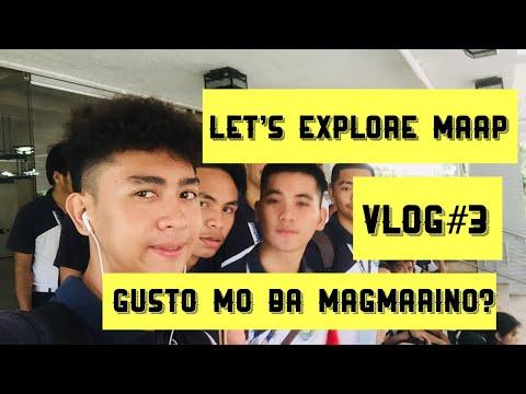 LET'S EXPLORE MAAP | GUSTO MO BA MAG MARINO? | VLOG#3