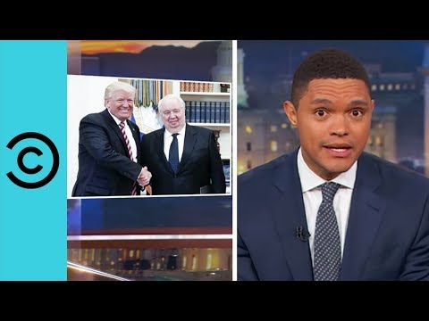 Thumbnail: Trump Just Can't Quit Russia - The Daily Show | Comedy Central