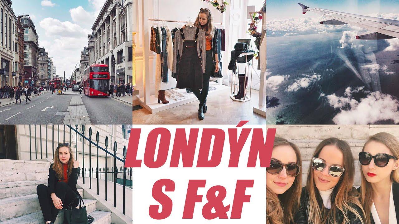 VLOG | V Londýně na podzimní kolekci F&F!