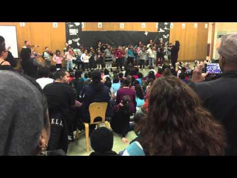Jingle Bells at River East Elementary School