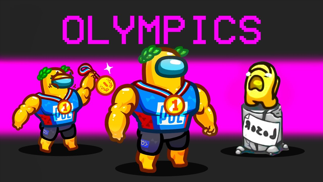 HOW TO BE an OLYMPIC ATHLETE in AMONG US!