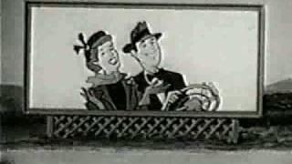 Classic Animated 1950's De Soto Car  Commercial