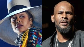 Live Crowd Lets Erykah Badu Have It After She Shows Support For R.Kelly!!