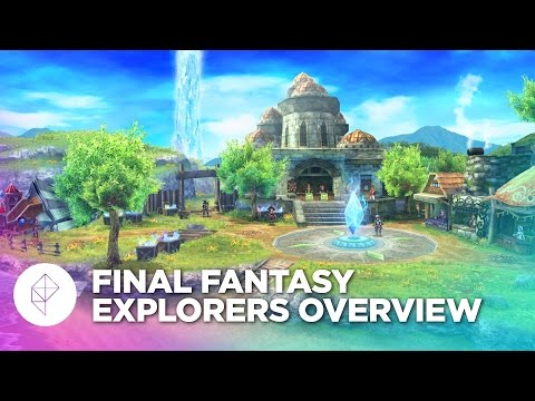How Final Fantasy Explorers grabbed onto all my free time and won't let go
