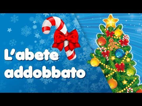 Albero Di Natale Zecchino Doro.Buon Natale L Abete Addobbato Canzoni Dedicata All Albero Di Natale