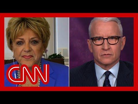 Anderson Cooper presses