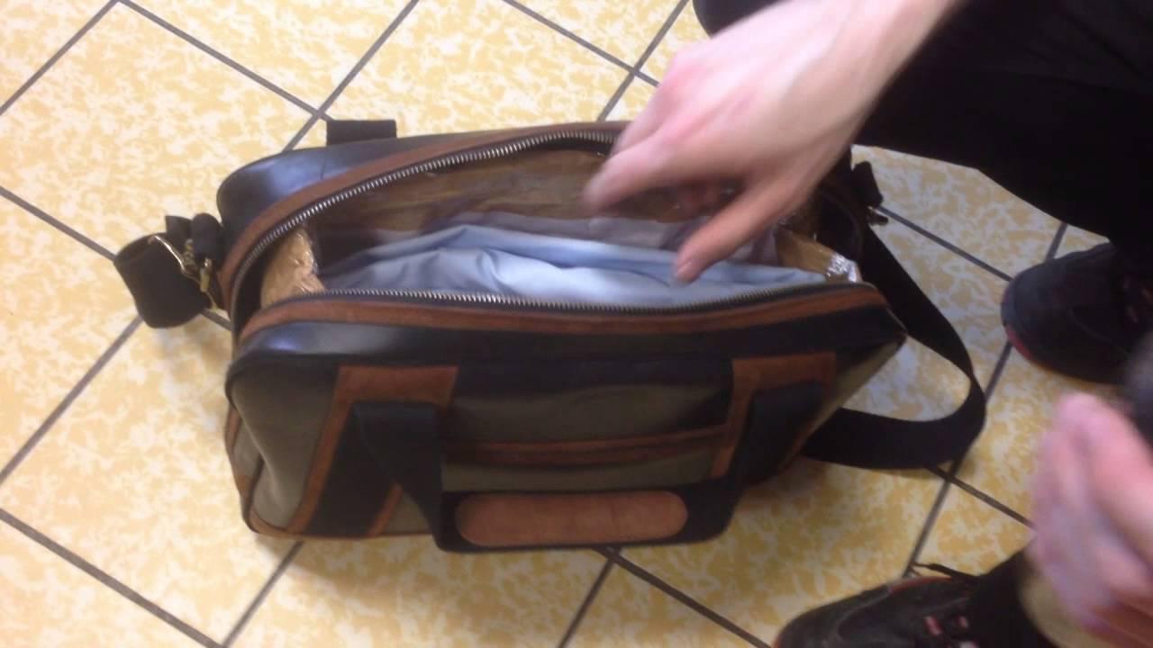 präparierte Tasche - YouTube