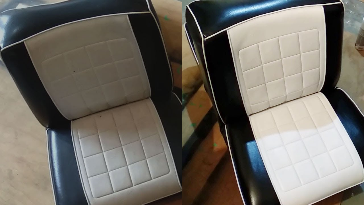 Restoring Vinyl Seats Cleaning Repairing And Painting You